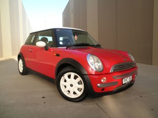 2002 Mini Hatch R50 Cooper Red & White Roof 5 Speed Manual Hatchback.