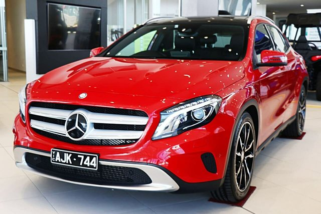 Used Mercedes-Benz GLA-Class X156 806MY GLA250 DCT 4MATIC Essendon Fields, 2016 Mercedes-Benz GLA-Class X156 806MY GLA250 DCT 4MATIC Red 7 Speed Sports Automatic Dual Clutch
