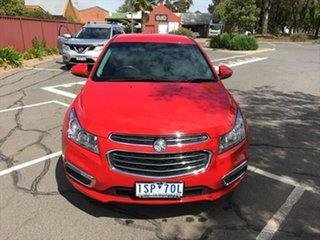 2015 Holden Cruze JH Series II MY15 CDX Red 6 Speed Sports Automatic Sedan.