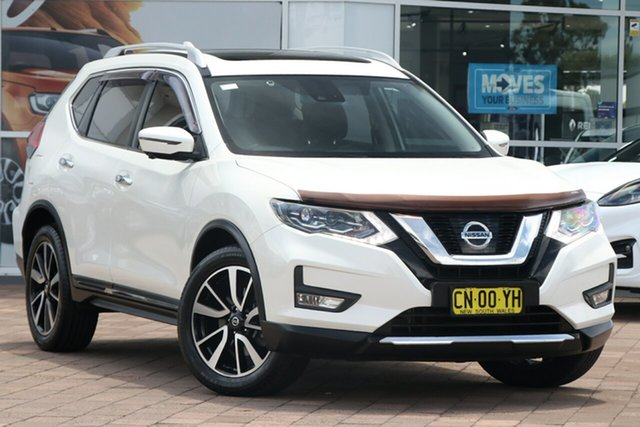Used Nissan X-Trail T32 Series II TL X-tronic 4WD Warwick Farm, 2017 Nissan X-Trail T32 Series II TL X-tronic 4WD White 7 Speed Constant Variable SUV