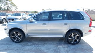 2012 Volvo XC90 P28 MY13 R-Design Geartronic Silver 6 Speed Sports Automatic Wagon