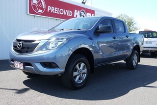 2017 Mazda BT-50 UR0YG1 XT Blue 6 Speed Sports Automatic Utility