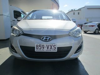 2013 Hyundai i20 PB MY12.5 Active Silver 4 Speed Automatic Hatchback
