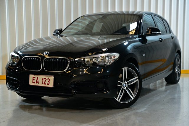 Used BMW 1 Series F20 LCI 118i Steptronic Sport Line Hendra, 2015 BMW 1 Series F20 LCI 118i Steptronic Sport Line Black 8 Speed Sports Automatic Hatchback