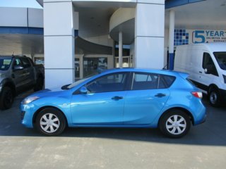 2011 Mazda 3 BL 11 Upgrade Neo Blue 6 Speed Manual Hatchback.