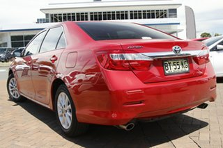 2012 Toyota Aurion GSV50R AT-X Red 6 Speed Sports Automatic Sedan.