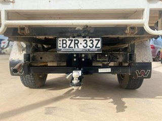 2011 Nissan Patrol ST White Manual Cab Chassis - Single Cab