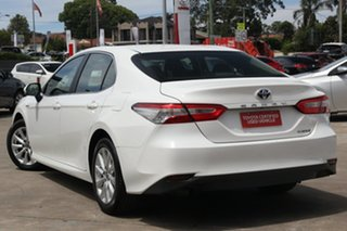 2019 Toyota Camry AXVH71R Hybrid Glacier White 6 Speed Constant Variable Sedan.
