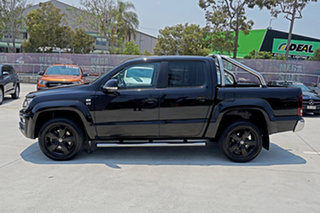 2017 Volkswagen Amarok 2H MY17 TDI550 4MOTION Perm Highline Black 8 Speed Automatic Utility