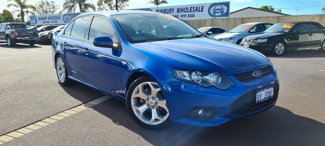 Used Ford Falcon FG MkII XR6 East Bunbury, 2012 Ford Falcon FG MkII XR6 Blue 6 Speed Sports Automatic Sedan