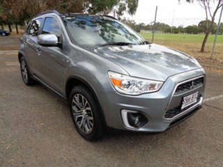 2015 Mitsubishi ASX XB MY15 XLS 2WD Grey 6 Speed Constant Variable Wagon.