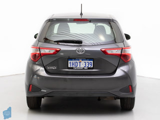 2017 Toyota Yaris NCP130R MY17 Ascent Grey 4 Speed Automatic Hatchback