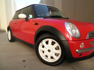 2002 Mini Hatch R50 Cooper Red & White Roof 5 Speed Manual Hatchback