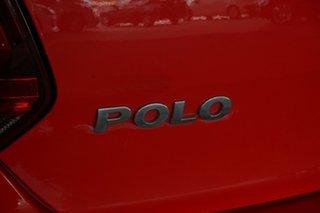 2010 Volkswagen Polo 6R 66TDI Comfortline Red 5 Speed Manual Hatchback