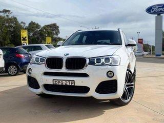 2015 BMW X3 xDrive20d White Automatic Wagon.