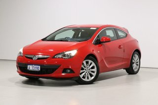 2015 Holden Astra PJ GTC Red 6 Speed Automatic Hatchback.