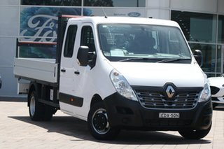 2018 Renault Master X62 Double Cab LWB AMT RWD White 6 Speed Sports Automatic Single Clutch.