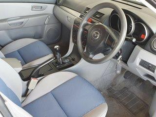 2006 Mazda 3 BK10F1 Neo White 5 Speed Manual Sedan.