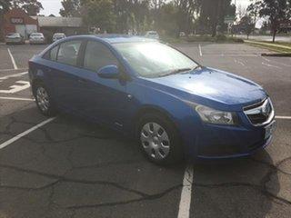 2010 Holden Cruze JG CD Blue 5 Speed Manual Sedan.