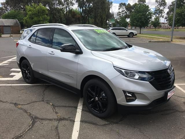 Used Holden Equinox EQ MY20 Black Edition FWD Yarrawonga, 2019 Holden Equinox EQ MY20 Black Edition FWD Silver 6 Speed Sports Automatic Wagon