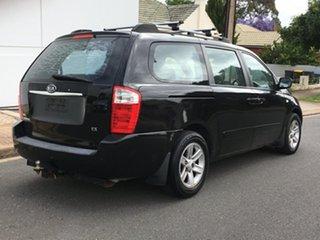 2006 Kia Grand Carnival VQ EX-L Black 5 Speed Sports Automatic Wagon.