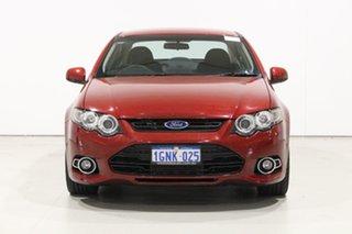 2014 Ford Falcon FG MK2 XR6T Red 6 Speed Auto Seq Sportshift Sedan.