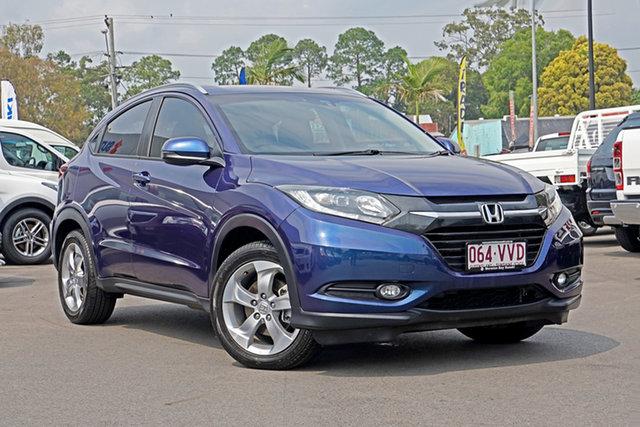 Used Honda HR-V MY15 VTi-S Chandler, 2015 Honda HR-V MY15 VTi-S Morpho Blu 1 Speed Constant Variable Hatchback