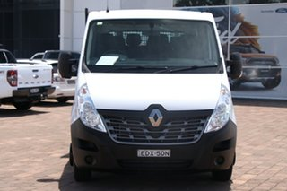 2018 Renault Master X62 Double Cab LWB AMT RWD White 6 Speed Sports Automatic Single Clutch