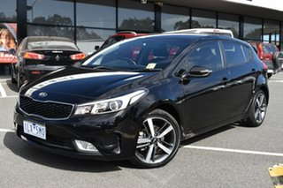 2017 Kia Cerato YD MY17 Sport Black 6 Speed Sports Automatic Hatchback.