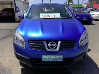 2008 Nissan Dualis J10 TI (4x4) Blue 6 Speed CVT Auto Sequential Wagon