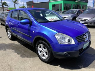 2008 Nissan Dualis J10 TI (4x4) Blue 6 Speed CVT Auto Sequential Wagon.