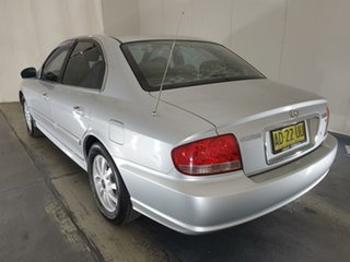 2004 Hyundai Sonata EF-B MY04 Silver 4 Speed Sports Automatic Sedan