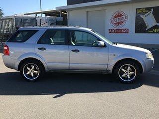 2004 Ford Territory SX Ghia 4 Speed Sports Automatic Wagon.