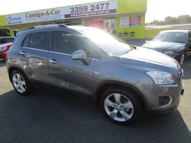 Used Holden Trax TJ MY14 LTZ Kedron, 2013 Holden Trax TJ MY14 LTZ Silver 6 Speed Automatic Wagon