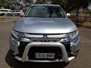 2016 Mitsubishi Outlander ZK MY16 LS 2WD Silver 5 Speed Manual Wagon.
