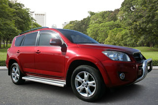 2009 Toyota RAV4 ACA33R MY09 Cruiser Red 5 Speed Manual Wagon.
