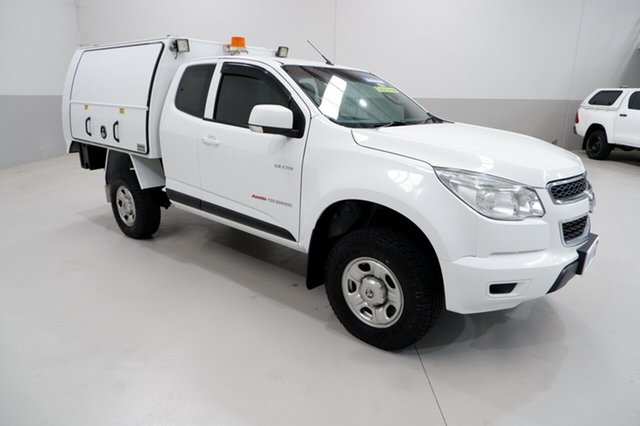 Used Holden Colorado RG MY14 LX Space Cab Kenwick, 2014 Holden Colorado RG MY14 LX Space Cab White 6 Speed Sports Automatic Cab Chassis