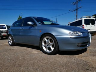 2002 Alfa Romeo 147 2.0 Twin Spark Blue 5 Speed Manual Hatchback.