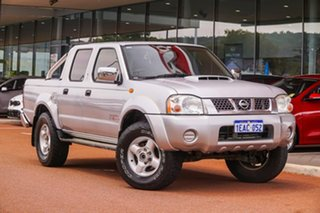 2012 Nissan Navara D22 S5 ST-R Silver 5 Speed Manual Utility.