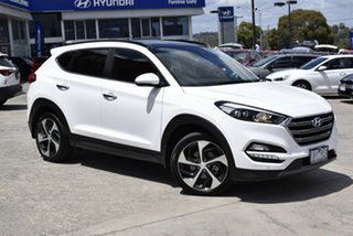 2016 Hyundai Tucson TLE Highlander AWD White 6 Speed Sports Automatic Wagon