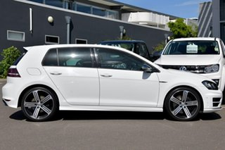2015 Volkswagen Golf VII MY15 R DSG 4MOTION White 6 Speed Sports Automatic Dual Clutch Hatchback.