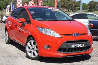 2009 Ford Fiesta WS Zetec Red 5 Speed Manual Hatchback.