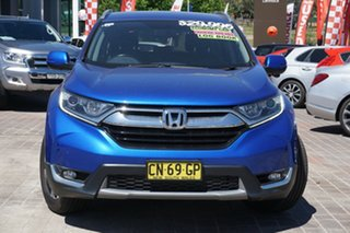 2017 Honda CR-V RW MY18 VTi-S FWD Blue 1 Speed Constant Variable Wagon.