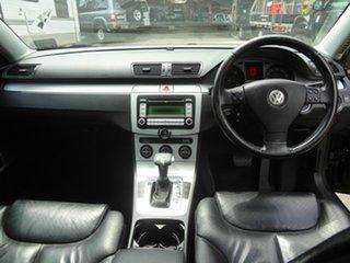 2007 Volkswagen Passat 3C 2.0 TDI Black 6 Speed Direct Shift Sedan