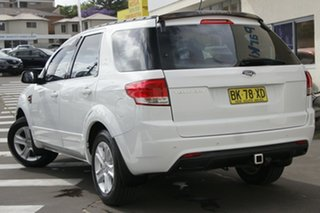 2012 Ford Territory SZ TX Seq Sport Shift White 6 Speed Sports Automatic Wagon.