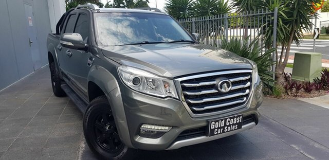 Used Great Wall Steed NBP (4x2) Southport, 2018 Great Wall Steed NBP (4x2) Grey 6 Speed Manual Dual Cab Utility
