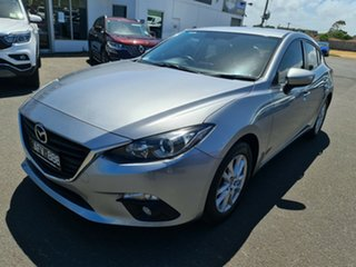 2015 Mazda 3 BM5478 Maxx SKYACTIV-Drive Silver 6 Speed Sports Automatic Hatchback.