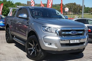 2018 Ford Ranger PX MkII 2018.00MY XLT Super Cab Grey 6 Speed Sports Automatic Utility.