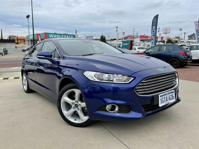 Used Ford Mondeo MD 2017.00MY Trend Victoria Park, 2017 Ford Mondeo MD 2017.00MY Trend Blue 6 Speed Sports Automatic Dual Clutch Hatchback
