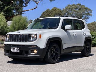 2017 Jeep Renegade BU MY17 Longitude DDCT White 6 Speed Sports Automatic Dual Clutch Hatchback.